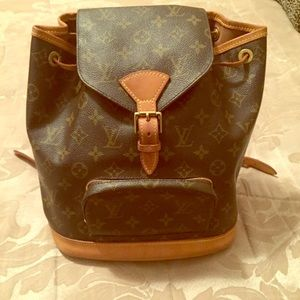 Genuine Louis Vuitton Backpack